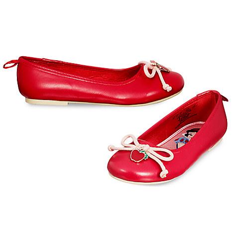 Snow White Ballet Flats for Kids