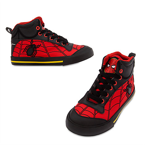 Spider-Man High-Top Sneakers for Kids