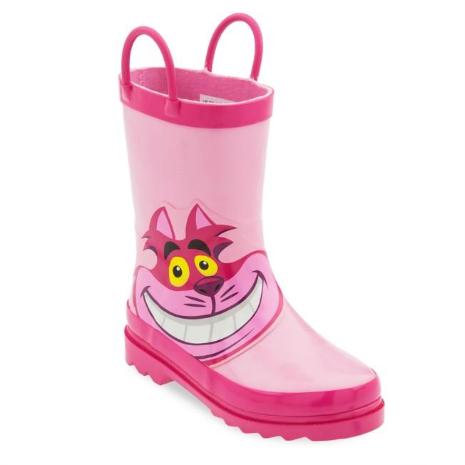 Cheshire Cat Rain Boots for Kids