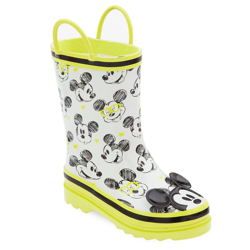 1223aa1d8f5c Mickey Mouse Rain Boots for Kids