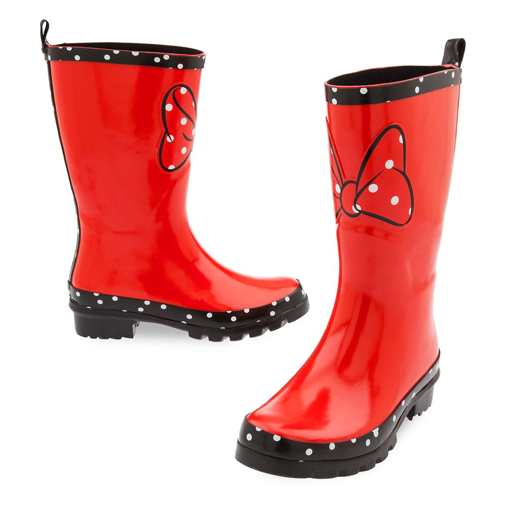 Minnie Mouse Rainboots for Women