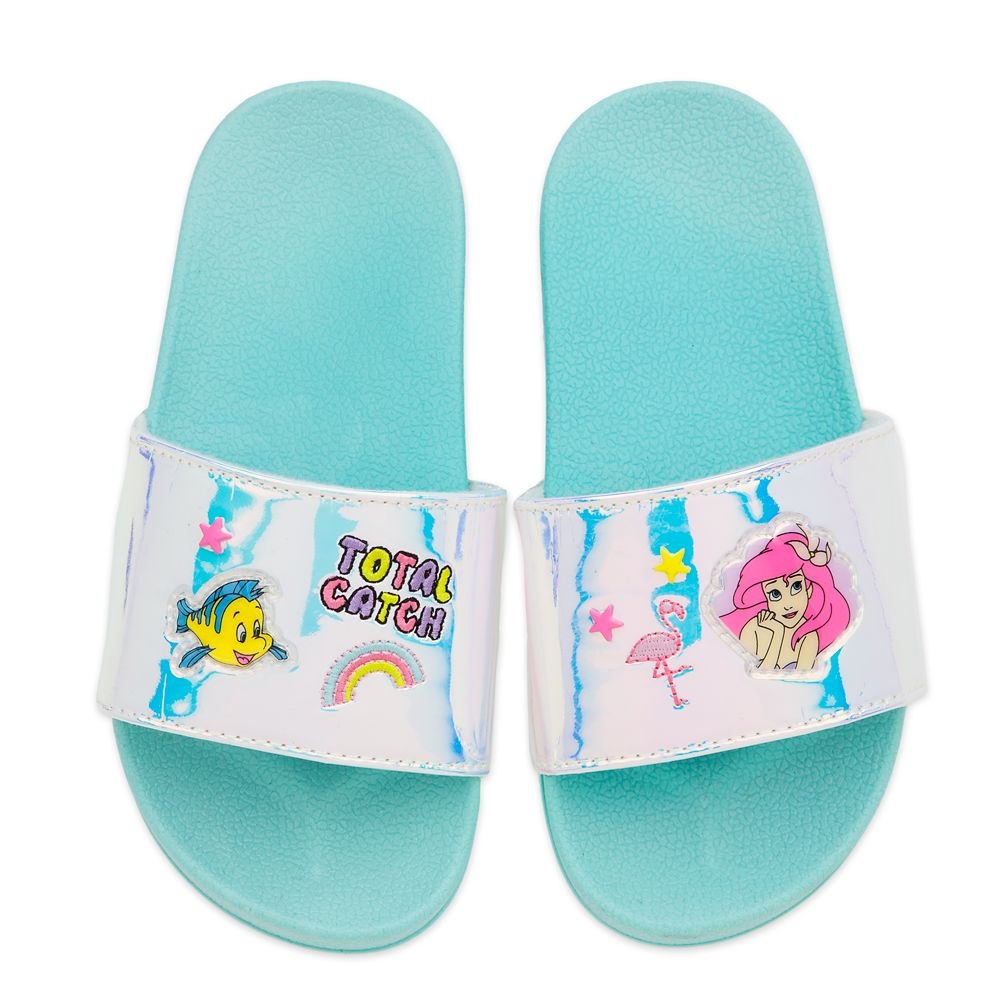 Ariel and Flounder Slides for Kids