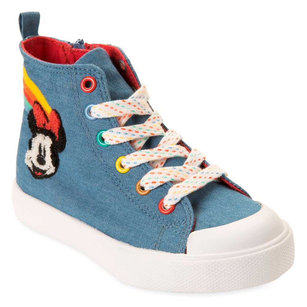 Minnie Mouse High Top Sneakers for Girls