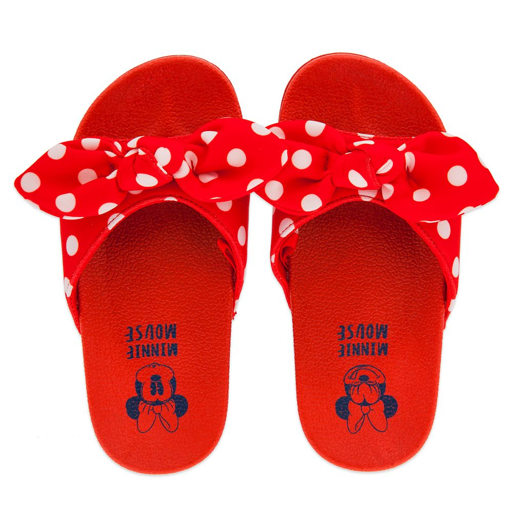 Minnie Mouse Slides for Kids – Red