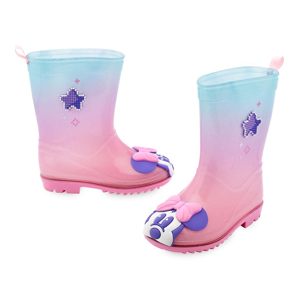Minnie Mouse Rain Boots for Kids