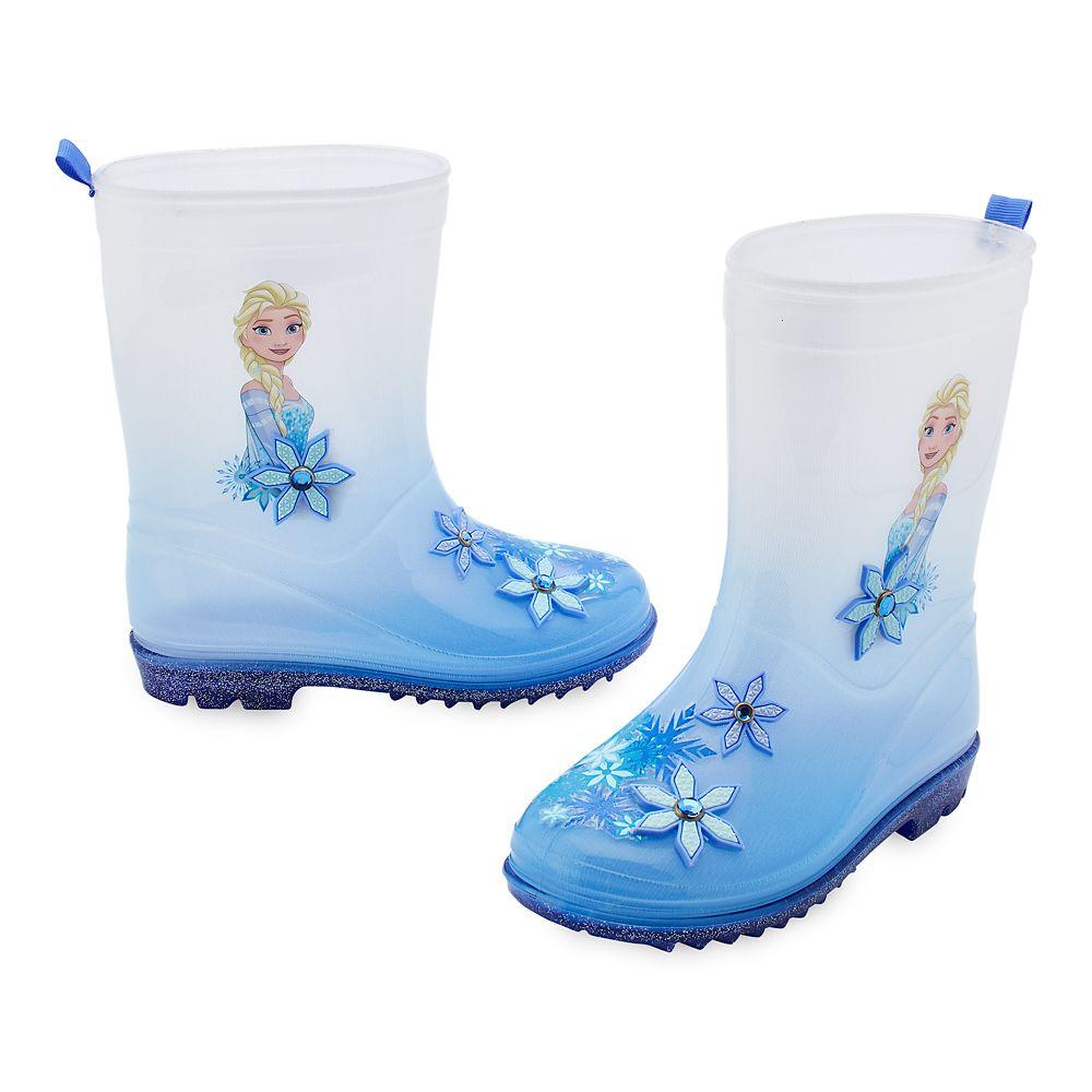 Elsa Rain Boots for Kids