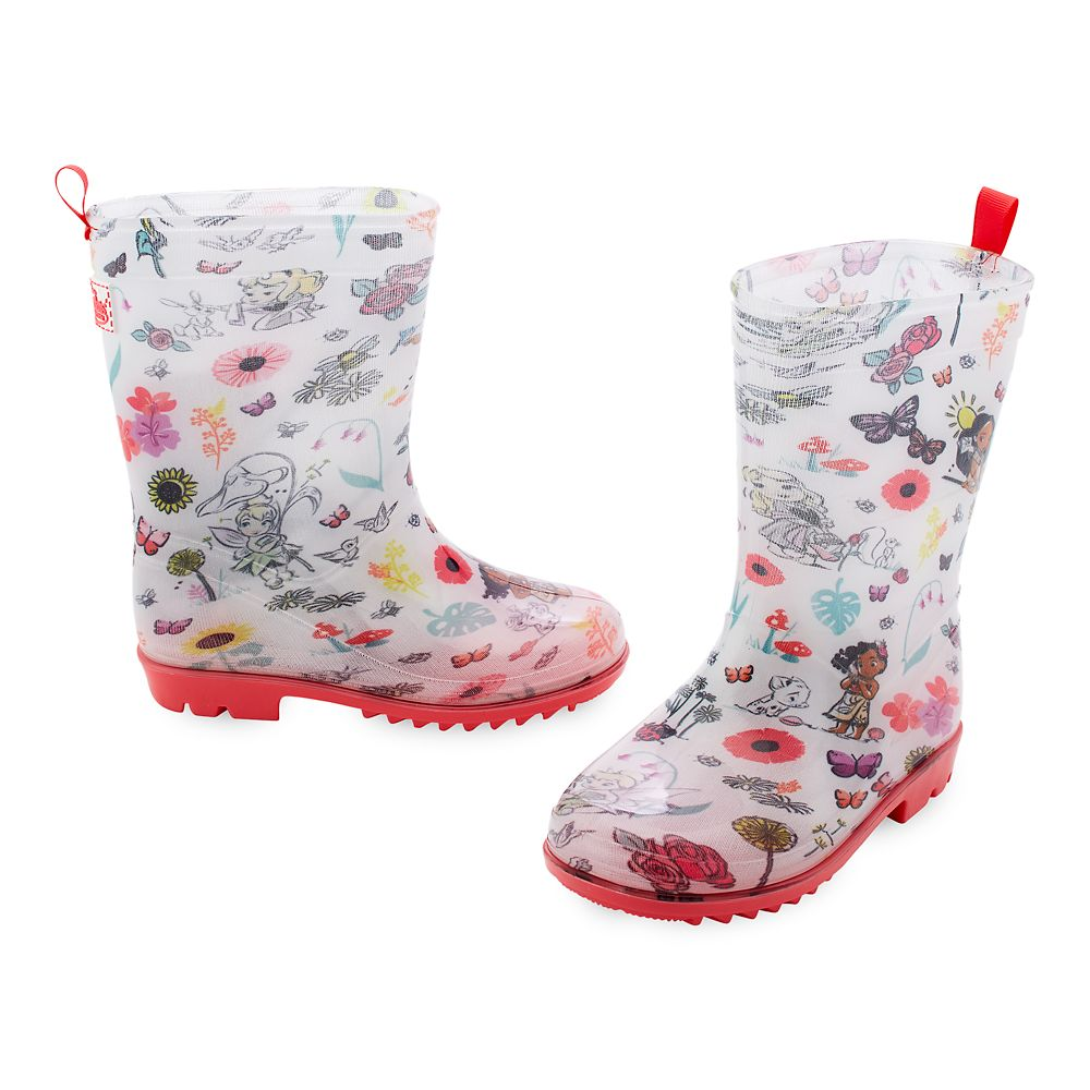 Disney Animators' Collection Rain Boots for Kids