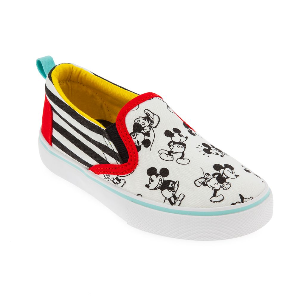 Mickey Mouse Slip-On Sneakers for Kids