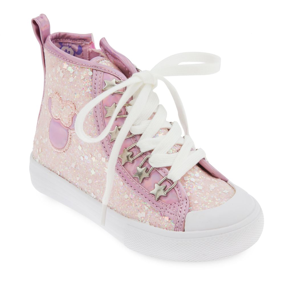 Minnie Mouse High-Top Sneakers for Kids