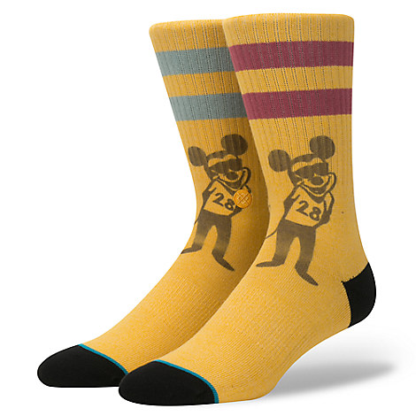 Mickey Mouse ''Russ Pope'' Socks for Men by Stance