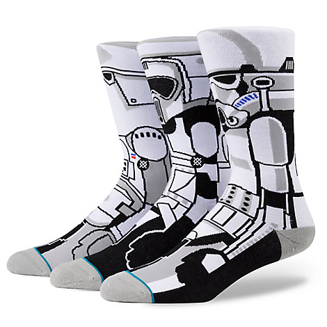 Stormtrooper Socks Set for Men by Stance - Star Wars