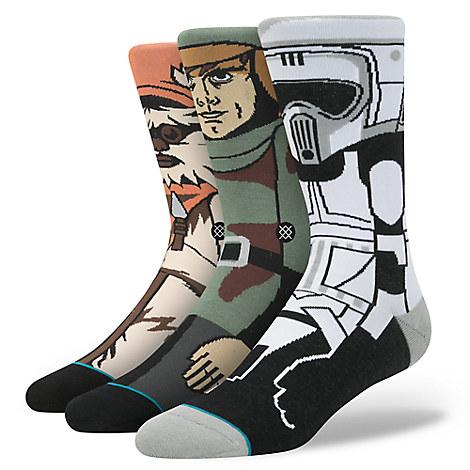 Star Wars: Return of the Jedi Socks Gift Pack for Men by Stance
