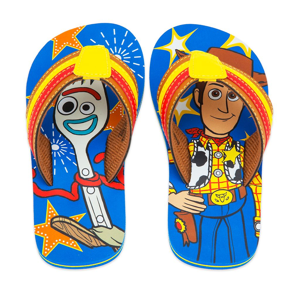 Toy Story 4 Flip Flops for Kids