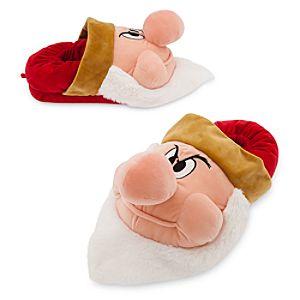 Grumpy Plush Slippers for Men