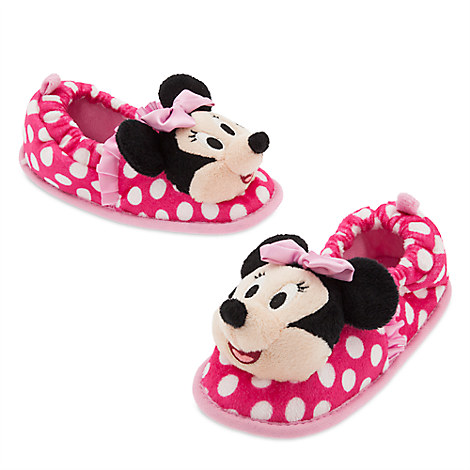 Minnie Mouse Clubhouse Slippers for Kids
