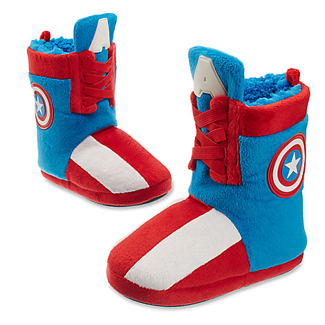 Captain America Deluxe Slippers for Kids