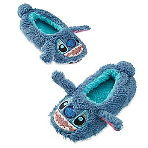 Stitch Plush Slippers for Kids