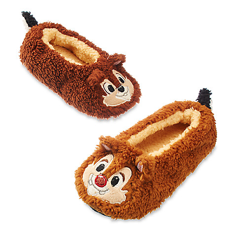 Chip 'n Dale Plush Slippers for Kids