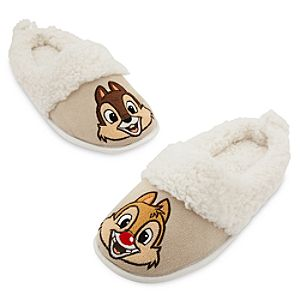 Chip 'n Dale Plush Slippers for Adults