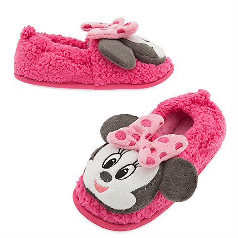Minnie Mouse Slippers for Kids
