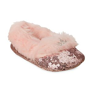 Image of Disney Princess Sequin Slippers for Kids