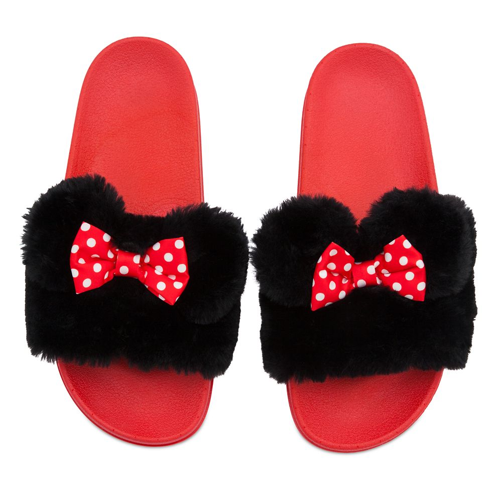 Minnie Mouse Slides for Women