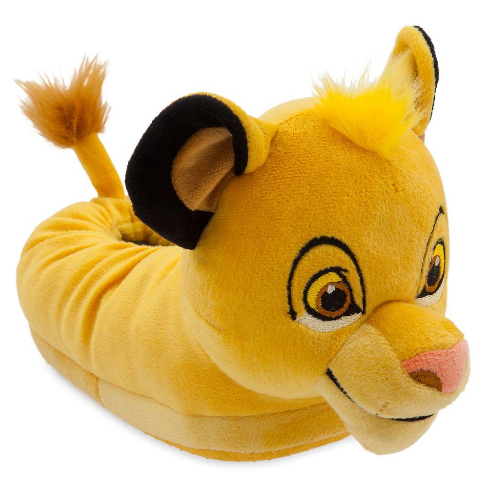 Simba Plush Slippers for Kids