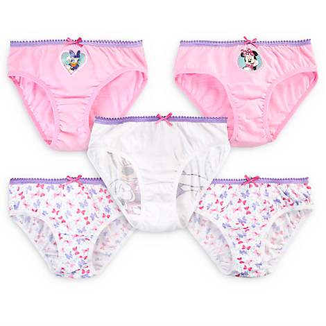 Minnie Mouse and Daisy Duck Underwear Set for Girls