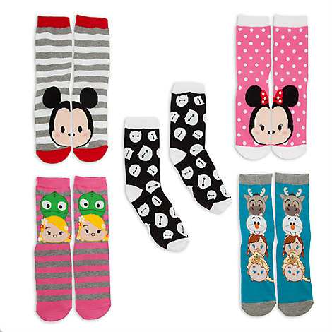 Disney ''Tsum Tsum'' Sock Set for Adults