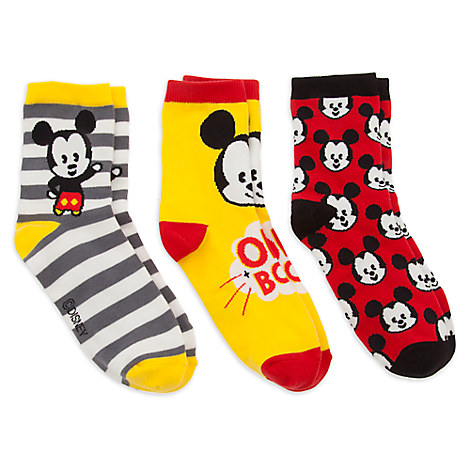 Mickey Mouse MXYZ Sock Set for Women