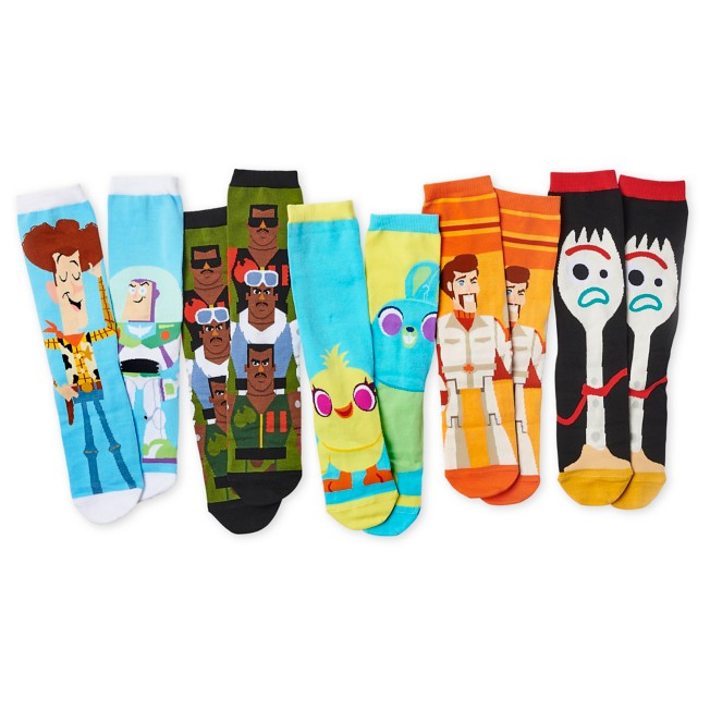 Toy Story 4 Sock Set for Adults – 5 Pack