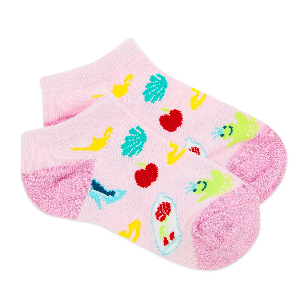 Disney Princess Ankle Socks for Girls