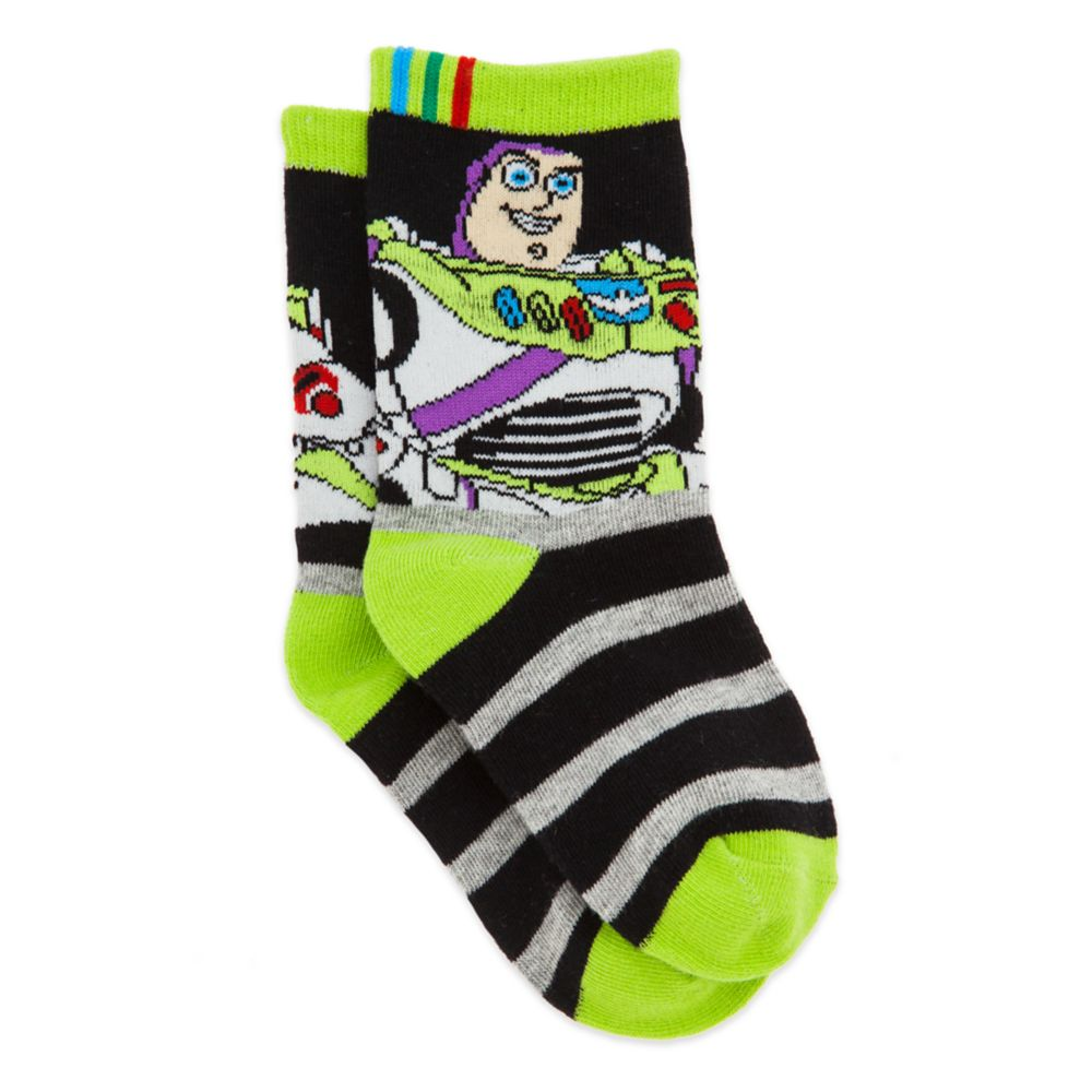 Buzz Lightyear Crew Socks for Boys Official shopDisney