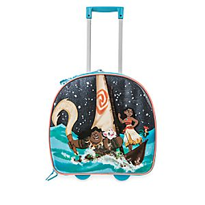 Disney Moana Light-Up Rolling Luggage
