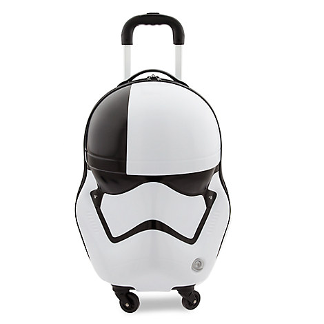 The First Order Judicial Stormtrooper Helmet Rolling Luggage - Star Wars: The Last Jedi