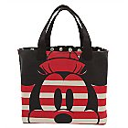 Mickey and Minnie Mouse Canvas Tote Bag