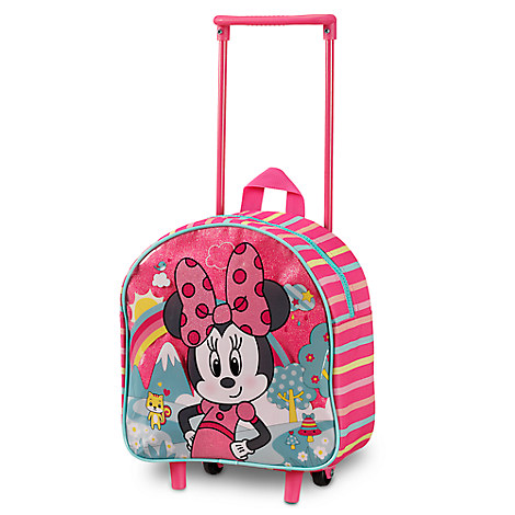 Minnie Mouse Rolling Luggage - Small