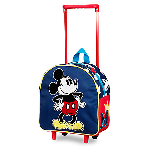 Mickey Mouse Rolling Luggage - Small