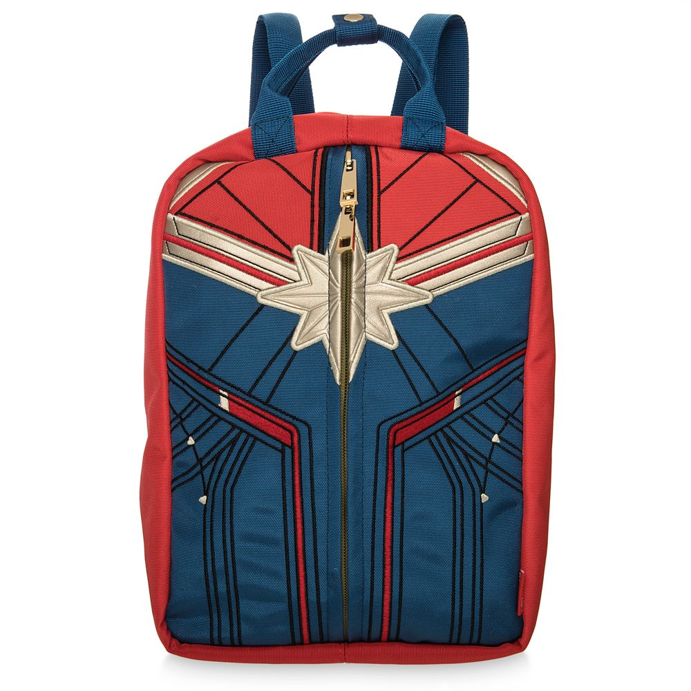 Marvel's Captain Marvel Reversible Mini Backpack and Handbag for Women