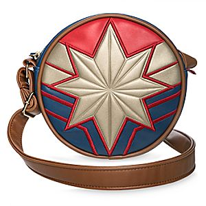 Marvel's Captain Marvel Circle Crossbody Bag for Tweens