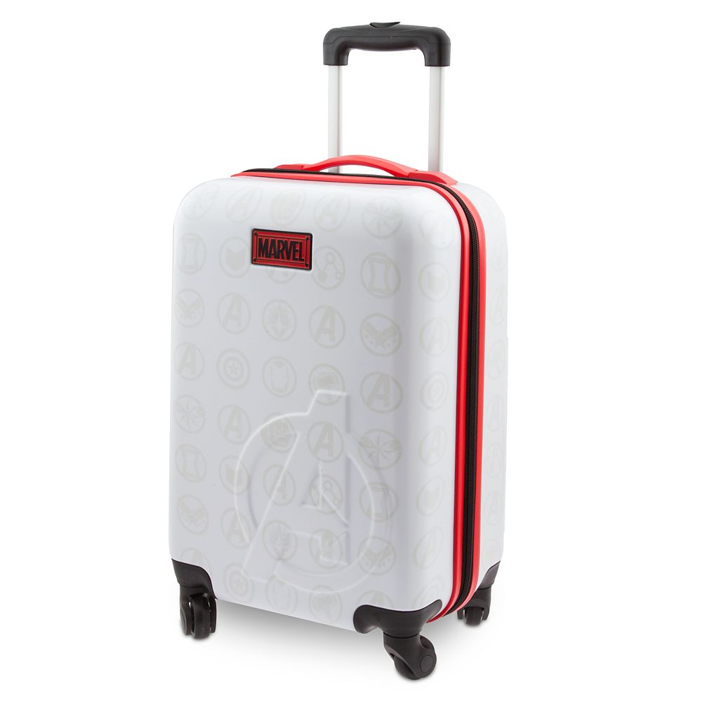 35 Amazing Marvel Gift Ideas featured by top US Disney blogger, Marcie and the Mouse: Marvel's Avengers Rolling Luggage Small Official shopDisney