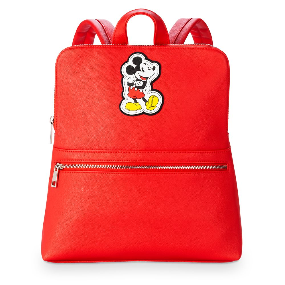 Mickey Mouse Red Fashion Backpack