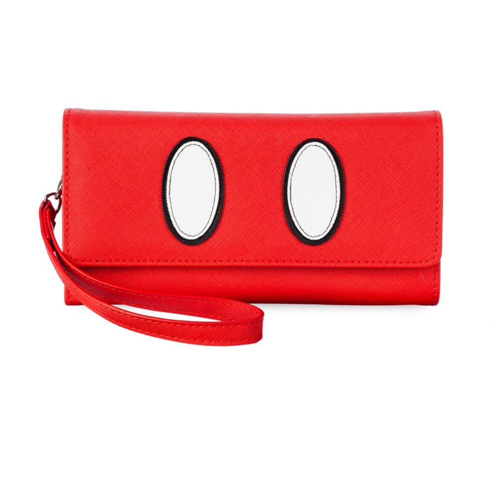 Mickey Mouse Red Wristlet Wallet Official shopDisney