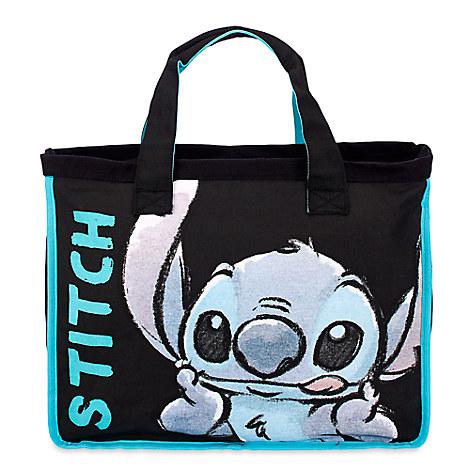 Stitch Large Canvas Tote Bag