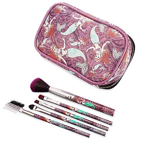 Ariel Brush Set and Make-Up Bag