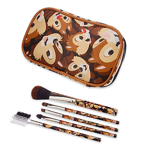 Chip 'n Dale Brush Set and Make-Up Bag