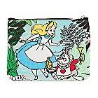 Alice in Wonderland Canvas Pouch