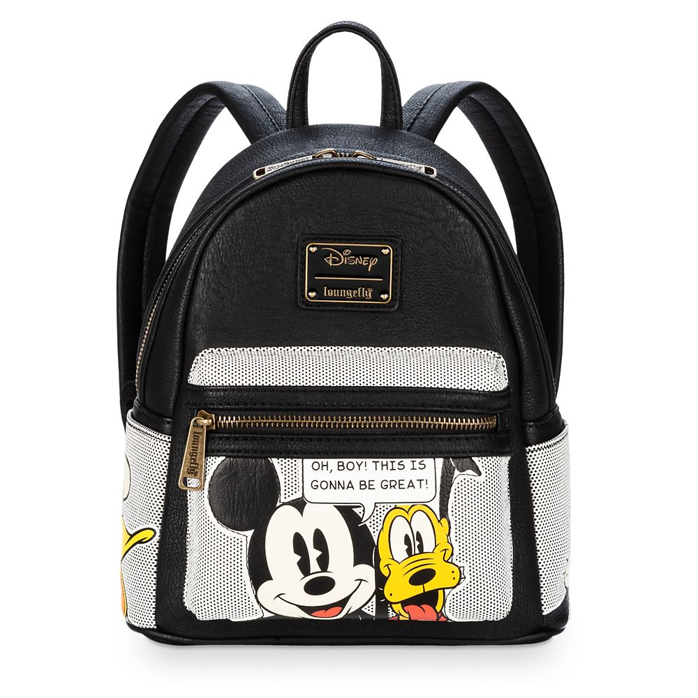 Mickey Mouse and Friends Mini Backpack by Loungefly
