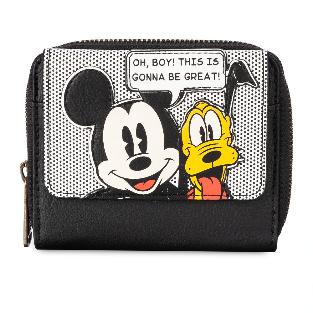 Mickey Mouse and Pluto Wallet by Loungefly