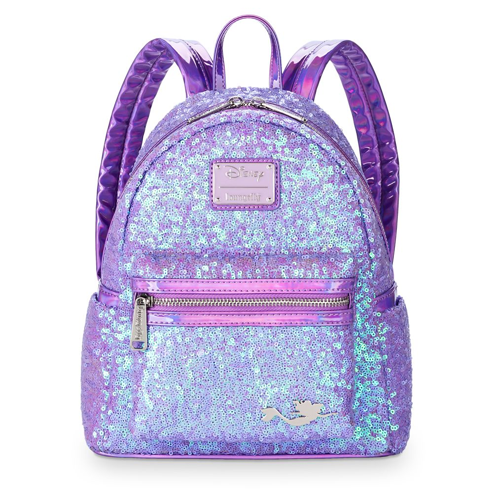 Ariel Sequined Mini Backpack by Loungefly – The Little Mermaid